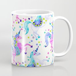 Pastel Unicorns Coffee Mug