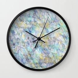 Smoke pattern Wall Clock