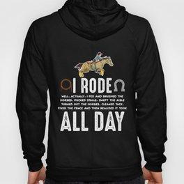 Horse Riding Pony Funny Horseback Horse Lover Hoody