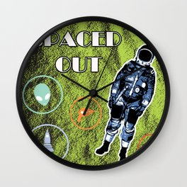 Spaced Out! Wall Clock