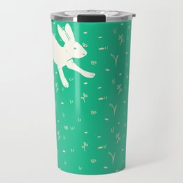 Running Bunny Travel Mug