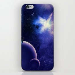 Space Time Fracture iPhone Skin