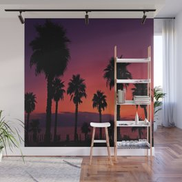 Sunset Is My Favourite Colour Wall Mural