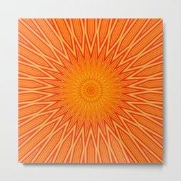 Orangerous Metal Print