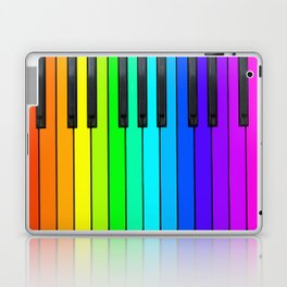 Rainbow Piano Keyboard  Laptop & iPad Skin