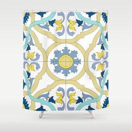Medieval interior pattern Shower Curtain