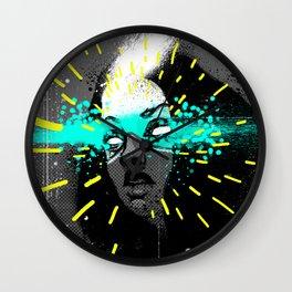 Erase my mind Wall Clock