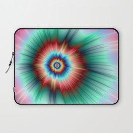 Tie Dye Comet Laptop Sleeve