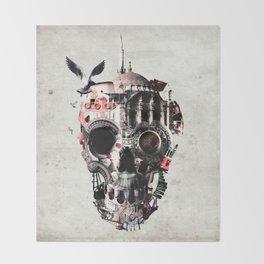 Istanbul Skull Throw Blanket