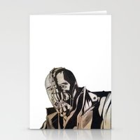 bane Stationery Cards featuring Bane  by iArtSometimes