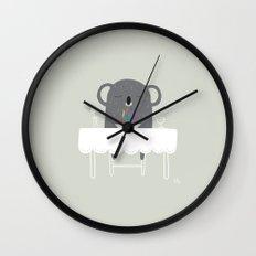 The Happy Dinner Wall Clock