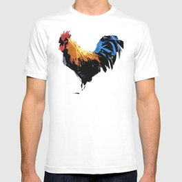 Rooster wall art decorative T-shirt