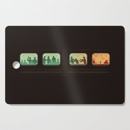 Ground Zero - Zombie Subway Cutting Board