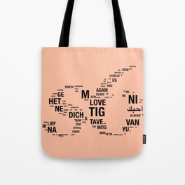 All languages ​​of the world Tote Bag