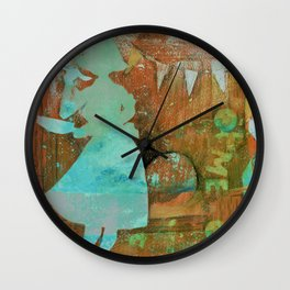 June Cleaver can throw a party Wall Clock