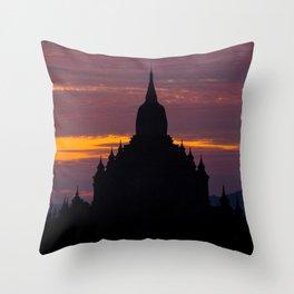 Bagan 3 Throw Pillow