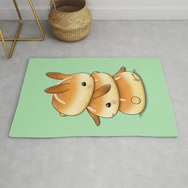 Hot Cross Bunbuns Rug