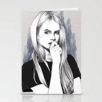 the who Stationery Cards featuring Who? by Michaela Ramstedt