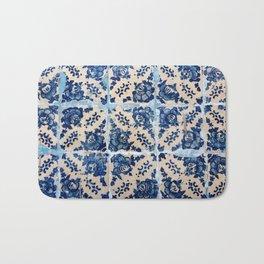 Portuguese Azulejo tiles Bath Mat