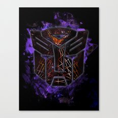 Autobots Abstractness - Transformers Canvas Print