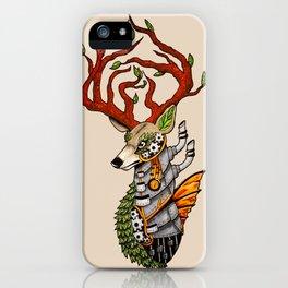 Steampunk Deer iPhone Case