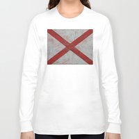 alabama Long Sleeve T-shirts featuring Alabama by Michael Creese