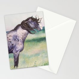 War Chief Courtesy of The Nokota Horse Conservancy® Stationery Cards