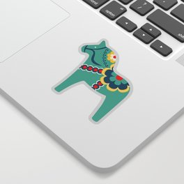 Swedish Horses Sticker