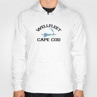 cape cod Hoodies featuring Wellfleet, Cape Cod by America Roadside