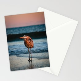 Hank the Heron Stationery Cards