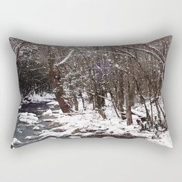 Winter Creek Rectangular Pillow