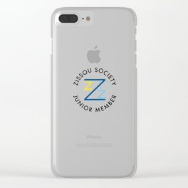 Zissou Society Junior Member Clear iPhone Case