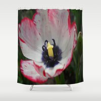 tulip Shower Curtains featuring Tulip by Vitta
