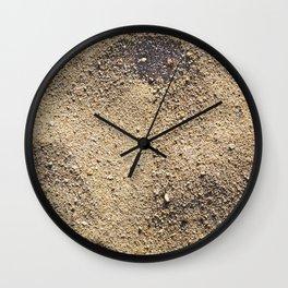 Texture #5 Sand Wall Clock