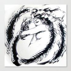 Salamanda Canvas Print