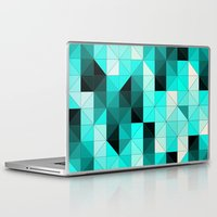 teal Laptop & iPad Skins featuring Teal by Hannah