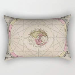 Van Loon - Aspects and Relationships of the Planets, 1708 Rectangular Pillow
