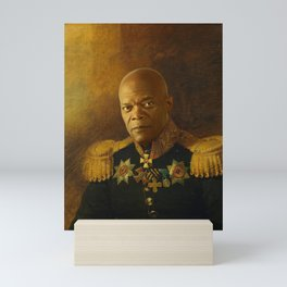 Samuel L. Jackson - replaceface Mini Art Print