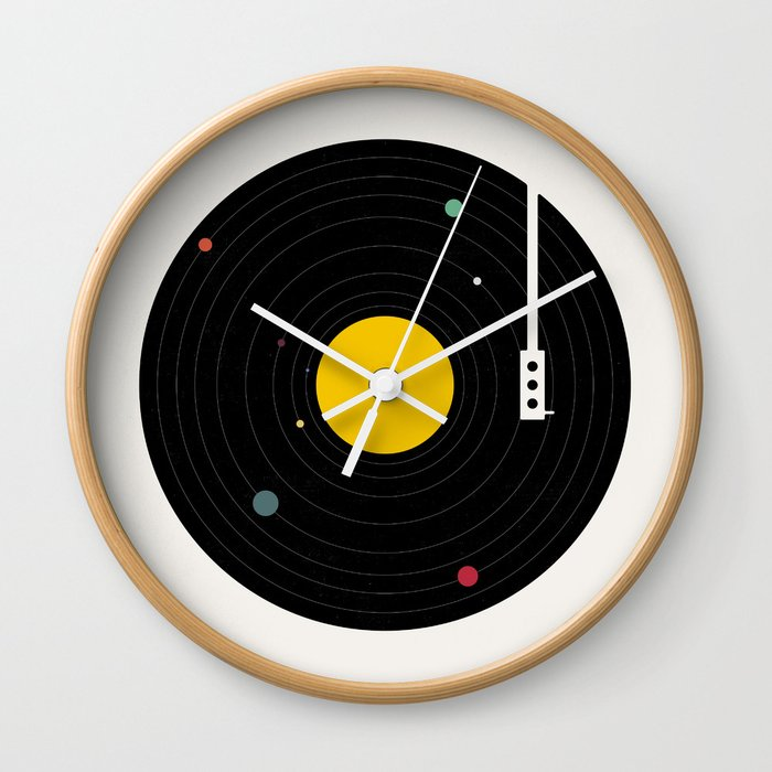 Music, Everywhere Wall Clock