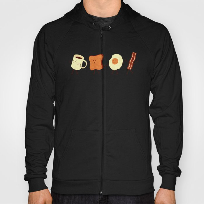 Let's All Go And Have Breakfast Hoody