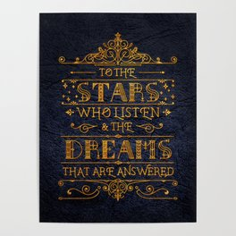 To the stars who listen Poster