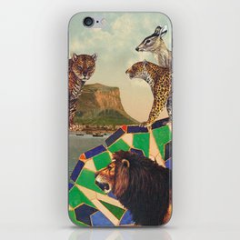 Searching all mountains high and seas blue iPhone Skin