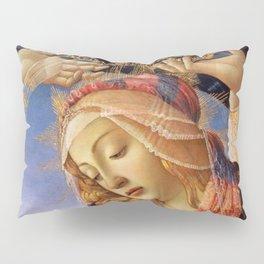MADONNA THE MAGNIFICENT - BOTTICELLI  Pillow Sham