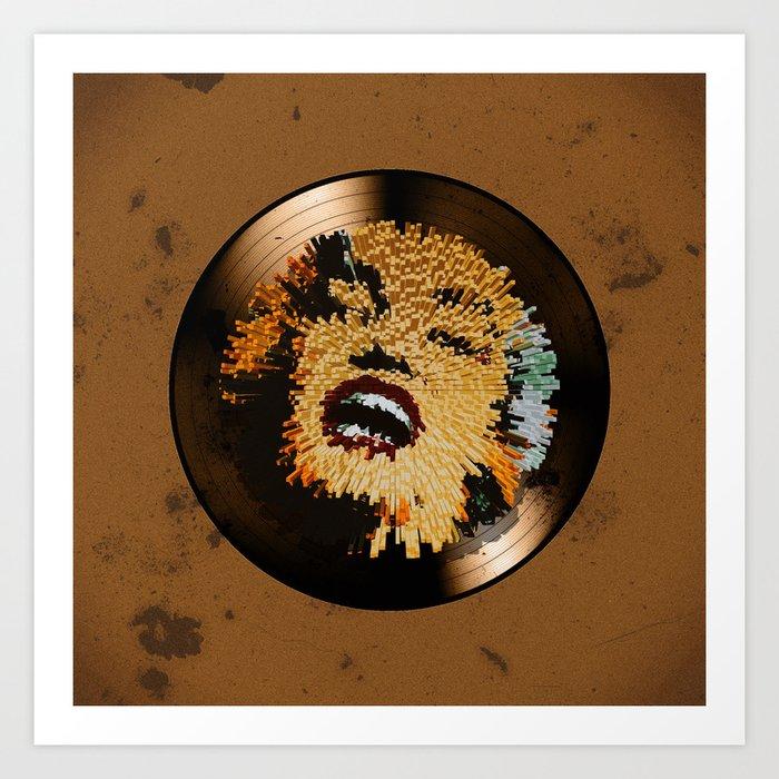 Vinyl No.4 Art Print