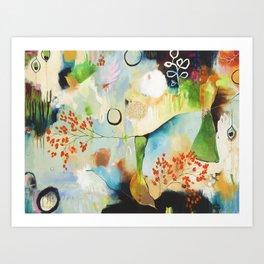 """Rainwash"" Original Painting by Flora Bowley Art Print"