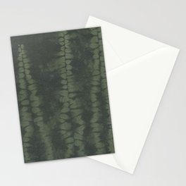 Shibori Ferns Stationery Cards