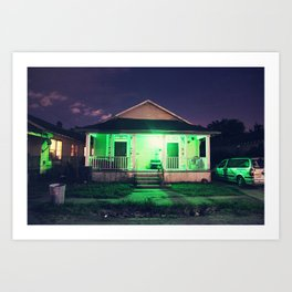 Bywater  Art Print