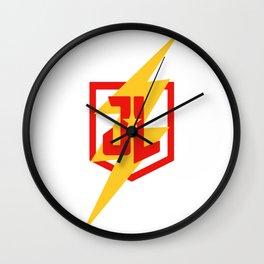 Speed Man 2 Wall Clock