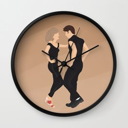 You're The One That I Want Wall Clock