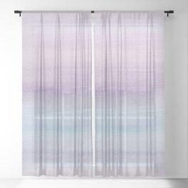 Pastel Watercolor Dream #1 #painting #decor #art #society6 Sheer Curtain